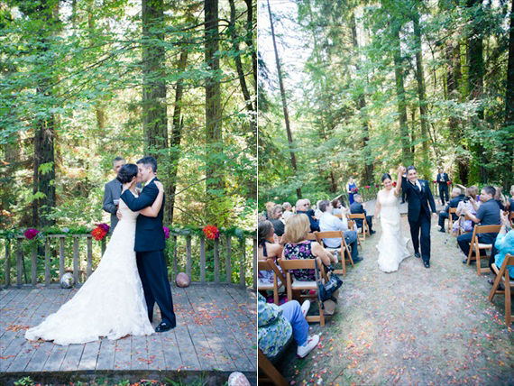 california outdoor wedding