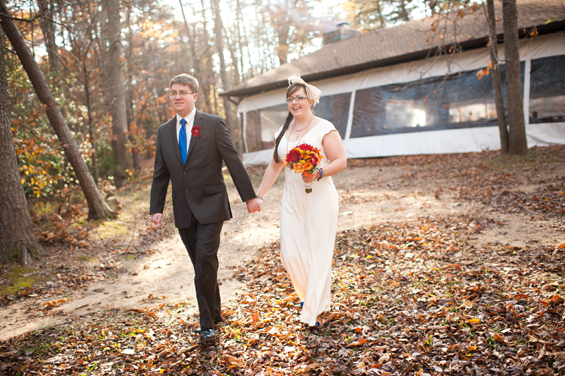 DIY Virginia wedding