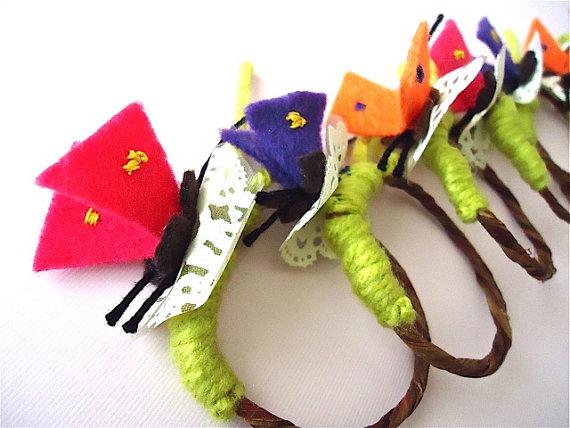 butterfly napkin holders