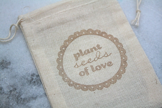 wedding favor bag