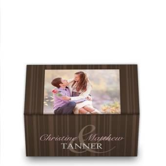 wedding favor boxes with photos