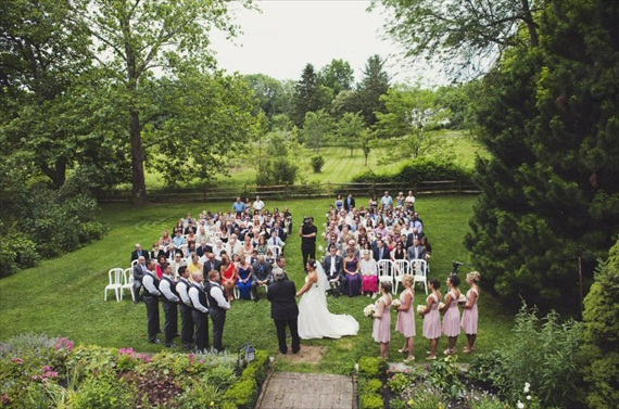 andover outdoor wedding