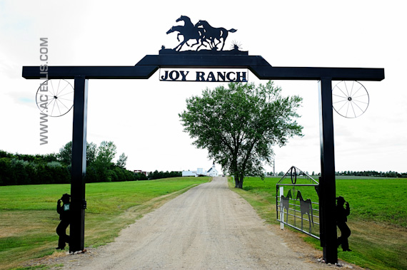 Joy Ranch wedding in South Dakota