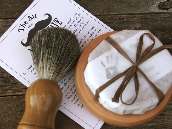 beer soap shaving kit