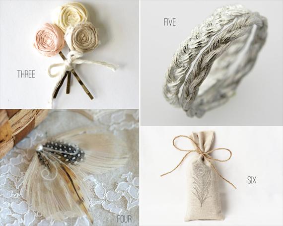 bohemian wedding hair pins