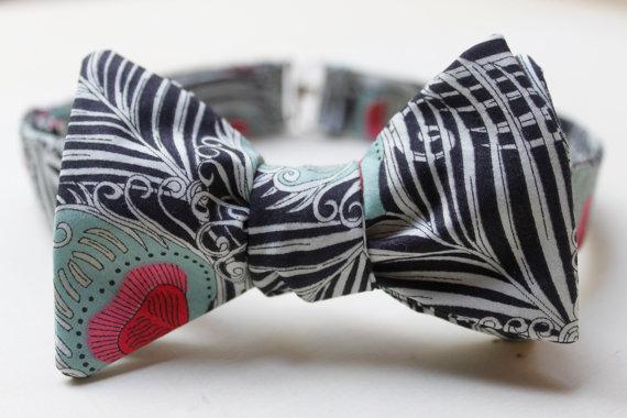 wedding bow tie liberty of london