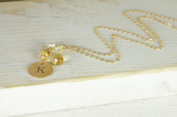 handmade bridesmaid necklaces