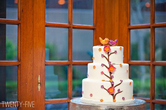 bird wedding cake topper