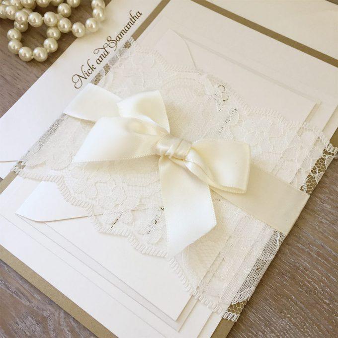 bow themed wedding ideas