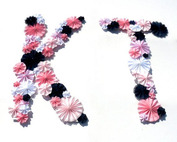 pinwheel monogram