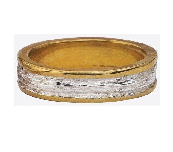 organic handmade wedding rings