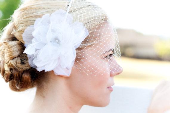 Wedding Veil (by Tiffani Saxton Designs) #handmade #wedding