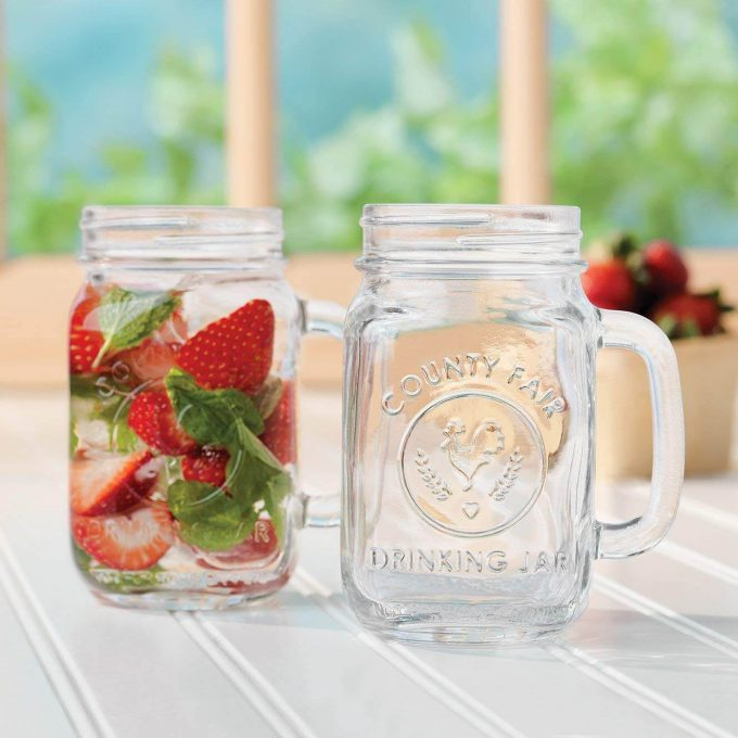 mason jars with handles in bulk