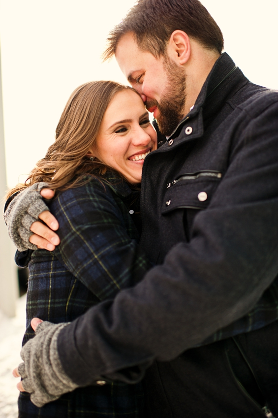 Detroit Engagement Session - Sarah Kossuch Photography