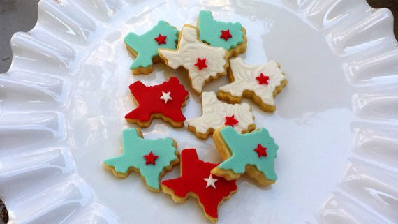 texas cookies by cookiefashionista
