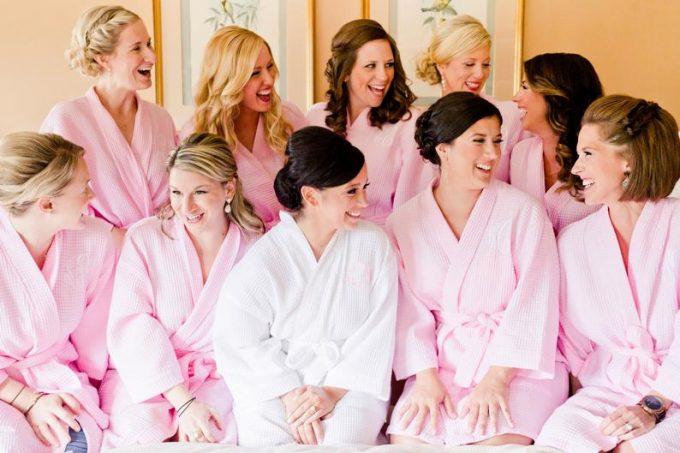 bridesmaid gift robe