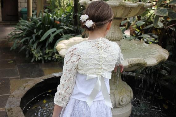 flower girl bolero