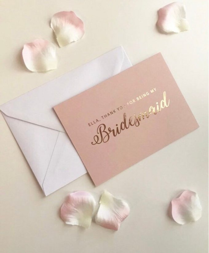 bridesmaid gift giving tips