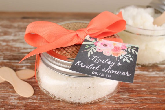 sugar scrub favors