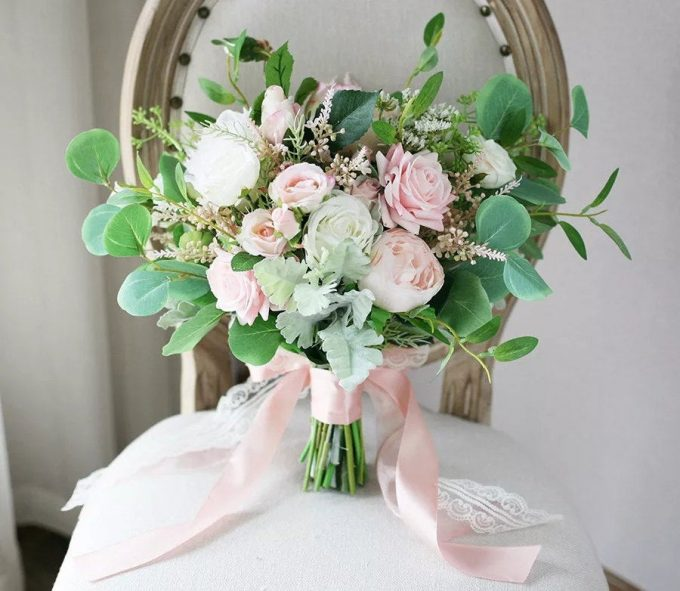 faux flower bouquets