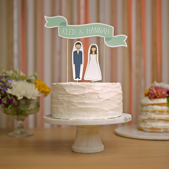wedding cake banner