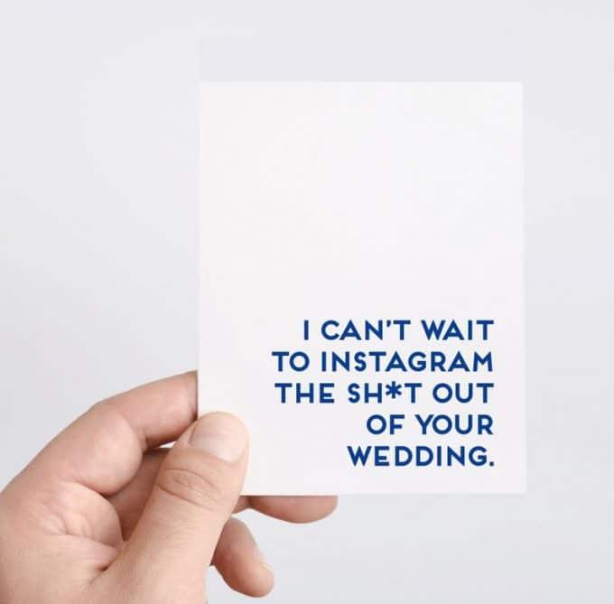 social media at weddings