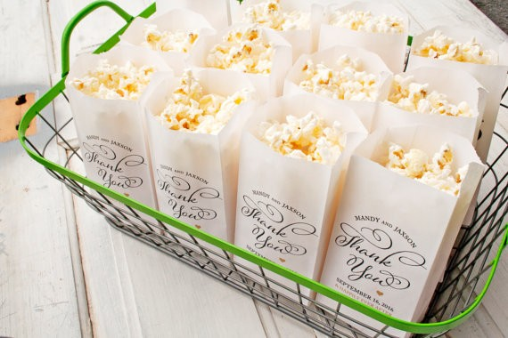 popcorn favor bags