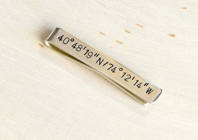 personalized tie bar