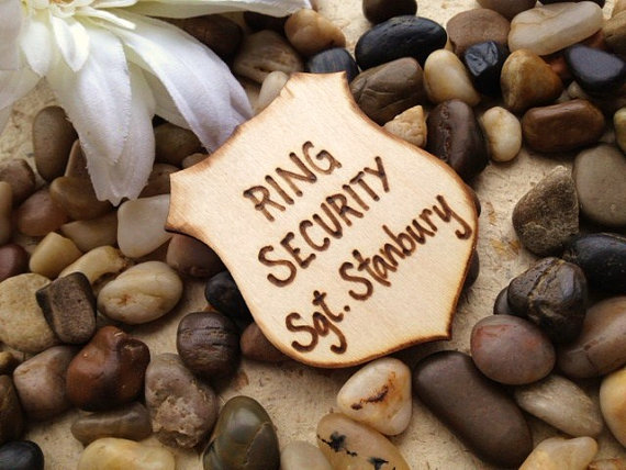 ring bearer badge security