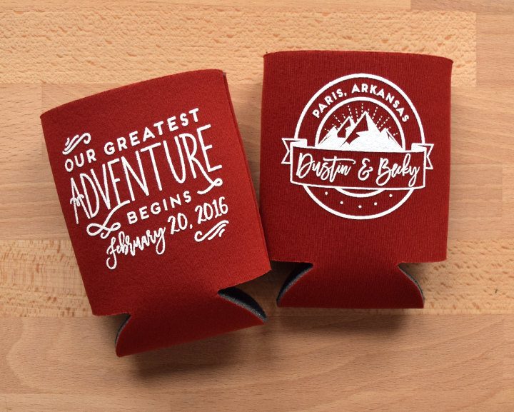 mountain koozies