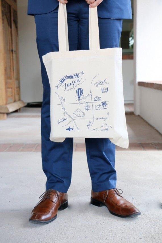 tucson - wedding welcome bags