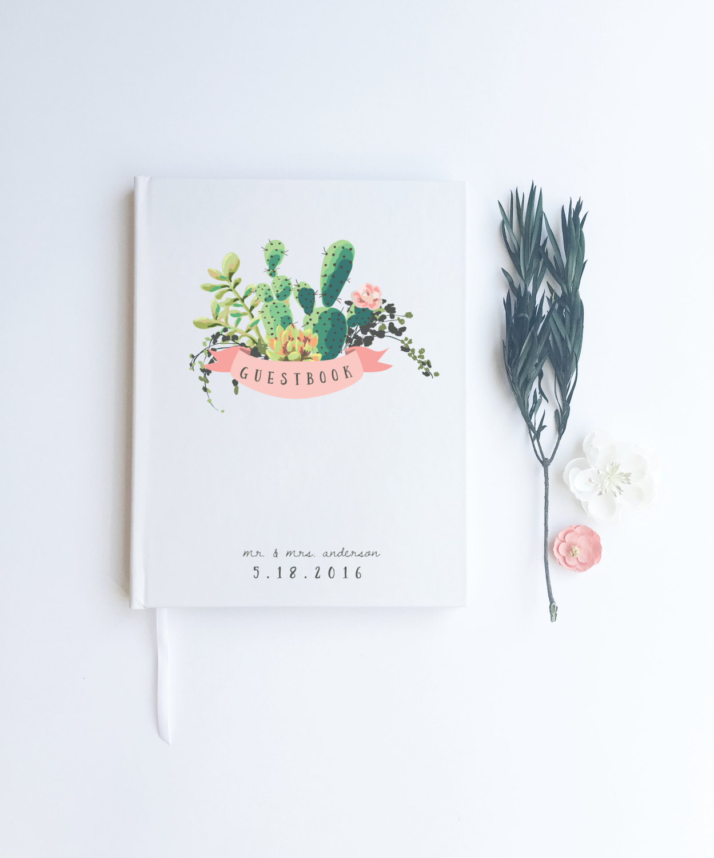 cactus guest book