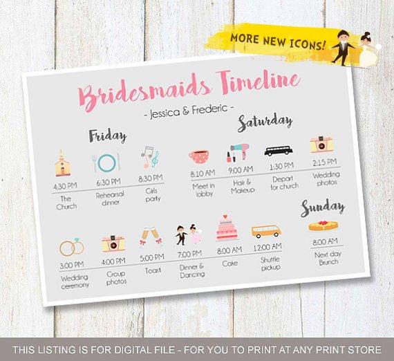 bridesmaid timeline black friday wedding sales 2018