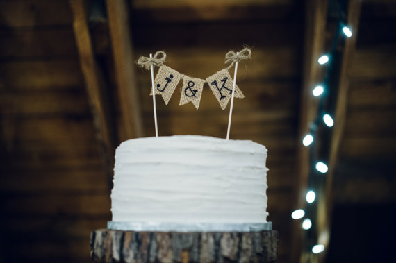 the craft and cupboard cake topper | barn reception ideas for weddings via https://emmalinebride.com/reception/barn-ideas-weddings/ ‎