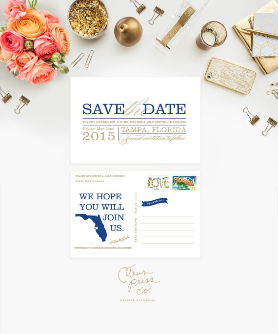 us save the date with state