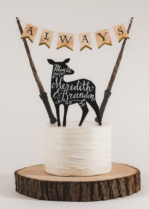 always harry potter cake topper