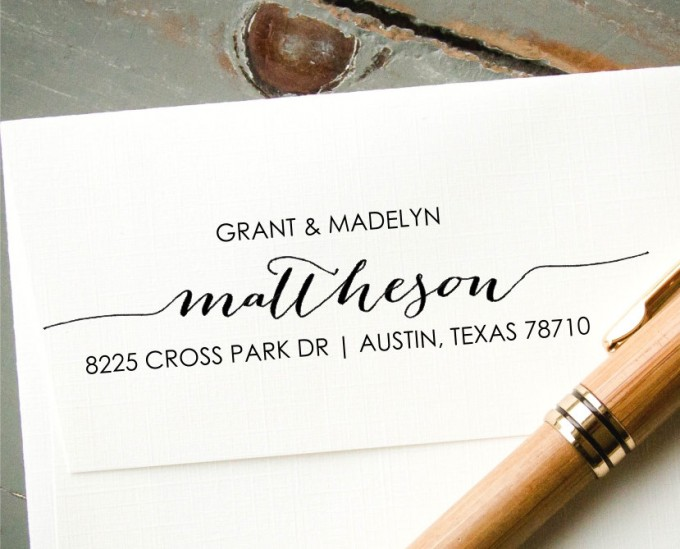 custom address stamp - image 5