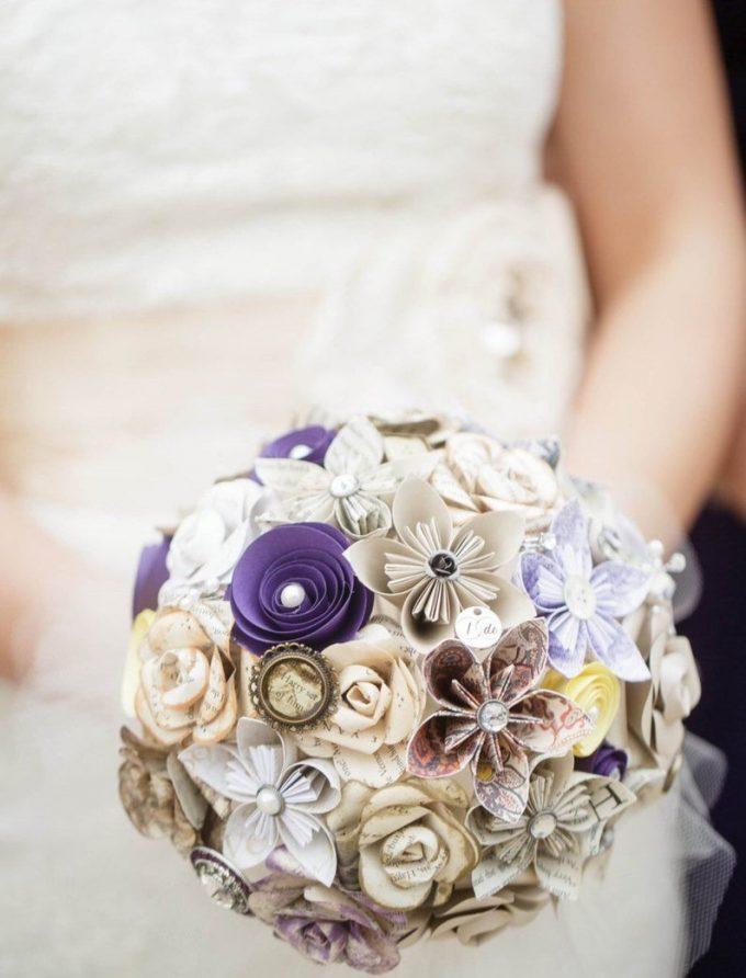 harry potter wedding boutonniere