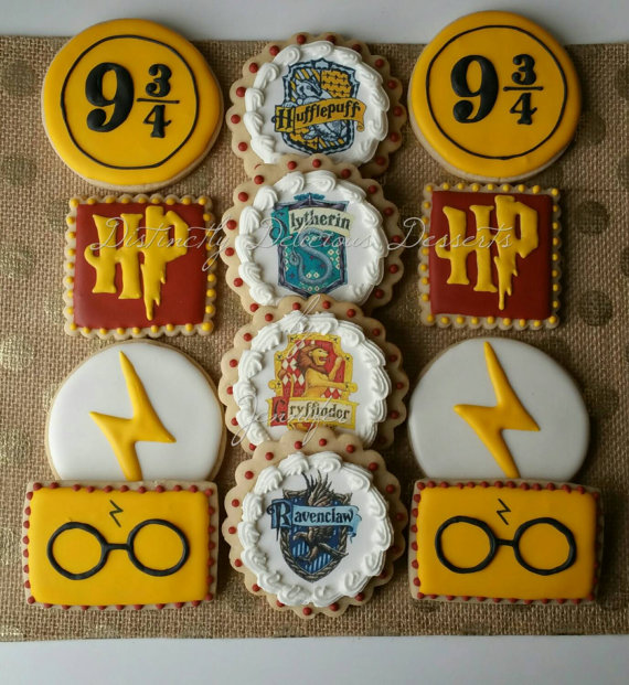 harry potter wedding cookies