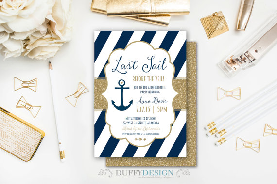last sail before the veil tumbler | How to Plan the Best Beach Bachelorette Party | http://emmalinebride.com/how-to/plan-beach-bachelorette-party