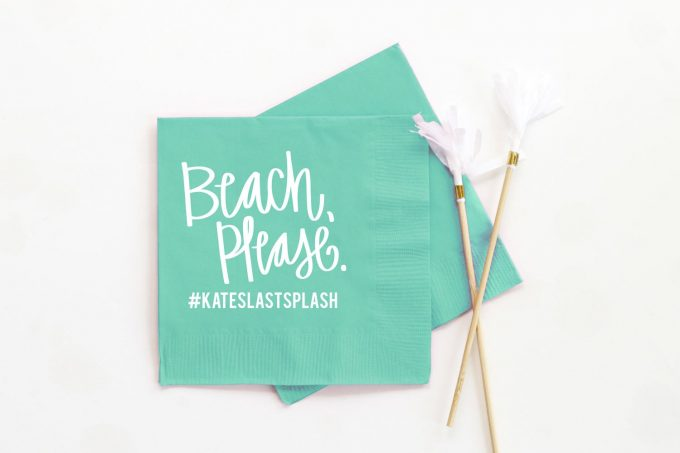 beach bachelorette party