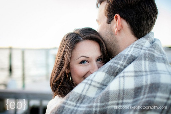 Wrightsville Beach NC Engagement Session // Photo by Eric Boneske Photography // Micaela and Chris