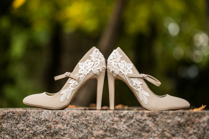 beige lace wedding shoes maryjanes