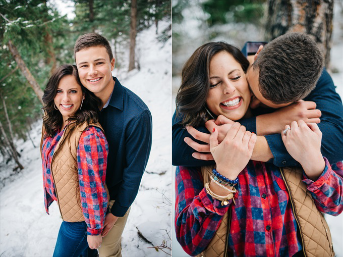 colorad couples engagement photo in the mountains engagement session lookout mountain colorado | http://www.emmalinebride.com/real-weddings/engagement-session-lookout-mountain/ | photo: Searching for the Light Photography - Colorado Wedding Photographer
