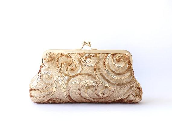 great gatsby inspired wedding clutch purse
