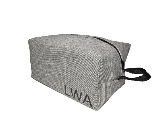 mens toiletry bag by boldbytina