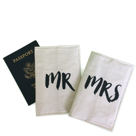 mr mrs passport covers