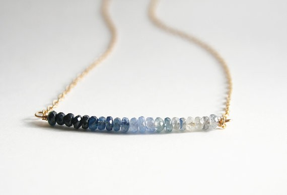 ombre sapphire jewelry something blue