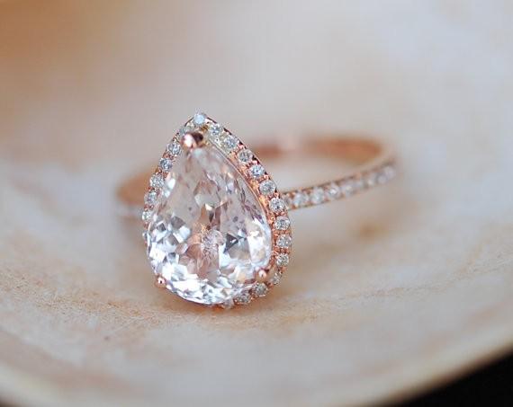 sapphire engagement ring by eidelprecious