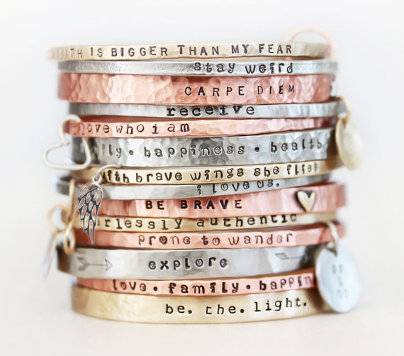 special message bracelet band